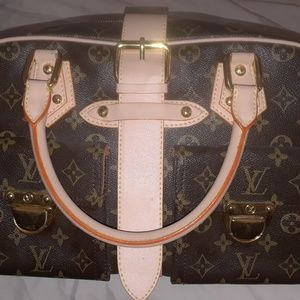 not authenticated lv purse
